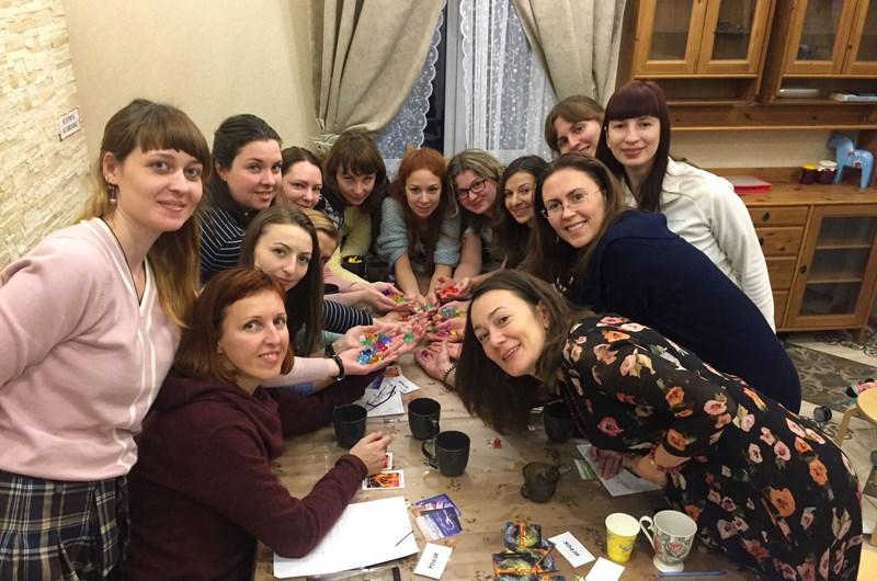 Встреча команды Школы Довольная Ева