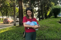 Материнство учит принимать в себе все, что было отвергнуто, и срывает все маски